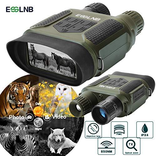 ESSLNB Night Vision Binoculars 1300ft Digital Night Vision Scope 7x31 Infrared Night Vision Hunting...