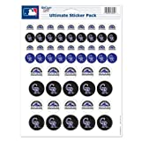 """Colorado Rockies Official MLB 8.5""""x11"""" Sticker Sheet by Wincraft"""