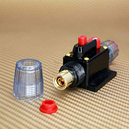 12V 24V 20-100A Auto Car Stereo Audio Circuit Breaker Resettable Fuse Holder Porfeet Circuit Breaker