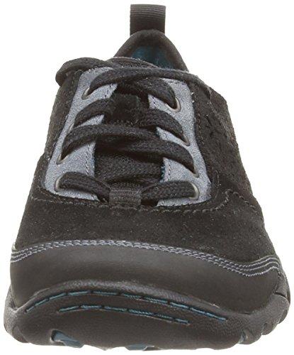Merrell Mimosa Hope - Zapatos de Cordones de cuero mujer Negro - negro