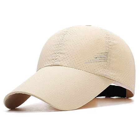 sdssup Sombrero de Hombre Visera de Moda de Verano Protector Solar ...