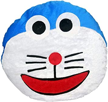 Briltech Doraemon Emoji Face Plush/ Pillow - 13 inches