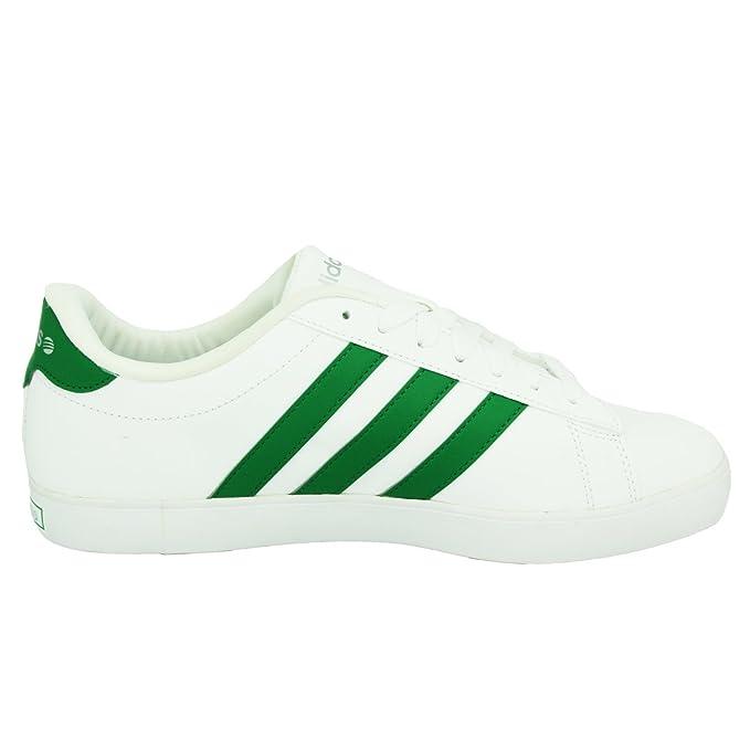 adidas Neo DSET Weiss Grun Herren Sneakers Schuhe: