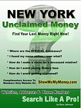 how to find unclaimed money from the government