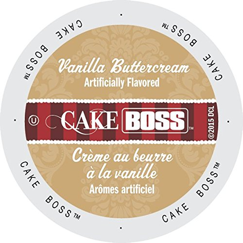 Cake Boss Coffee Vanilla Buttercream, 24 Count: Amazon.com: Grocery & Gourmet Food