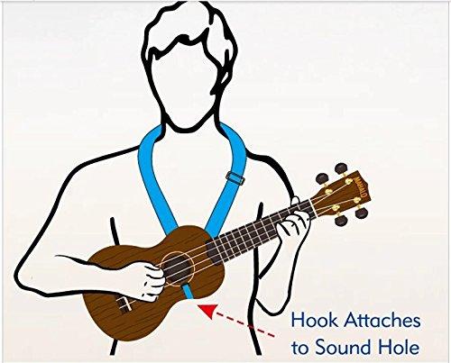 Amazon.com: MUSIC FIRST Aztec Style Adjustable Soft Ukulele Strap ...