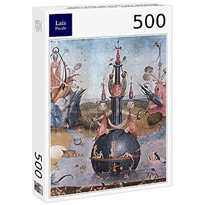 Lais Puzzle Hieronymus Bosch Il Giardino Della Lussuria Pannello Centrale Il Giardino Della Lussuria I Dettagli 500 Pezzi