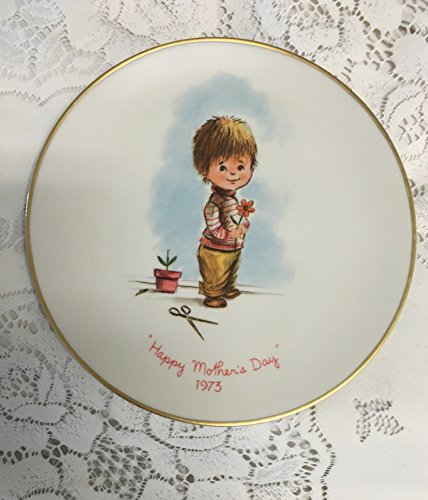 Vintage Gorham 1973 Moppets First Edition Mother's Day Plate
