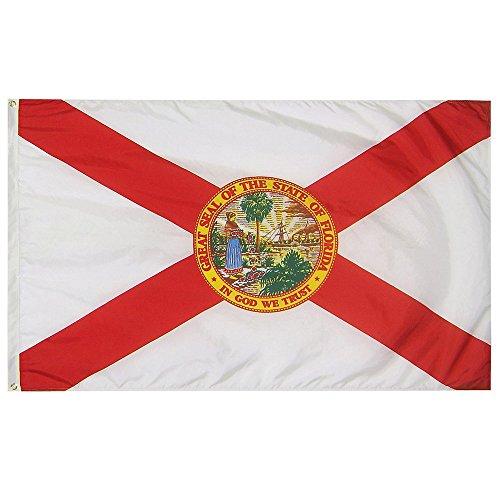 3 x 5 Florida State Flag - Nylon - 100% American Made