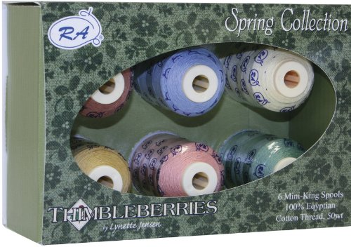 (Thimbleberries Cotton Thread Collections 500 Yards 1 pcs sku# 649167MA)