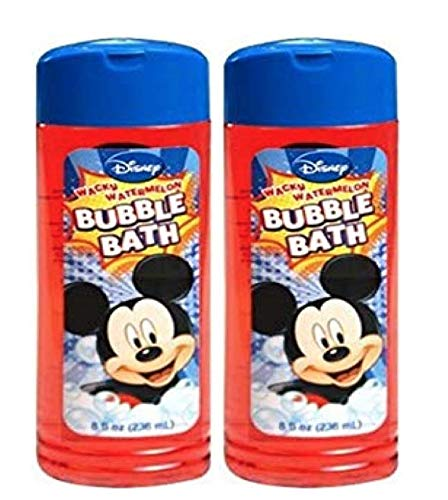 (Disney Mickey Bathing & Skin Care (Pack of 2 bubble bath))