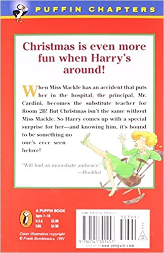 Horrible Harry and the Christmas Surprise: Suzy Kline ...