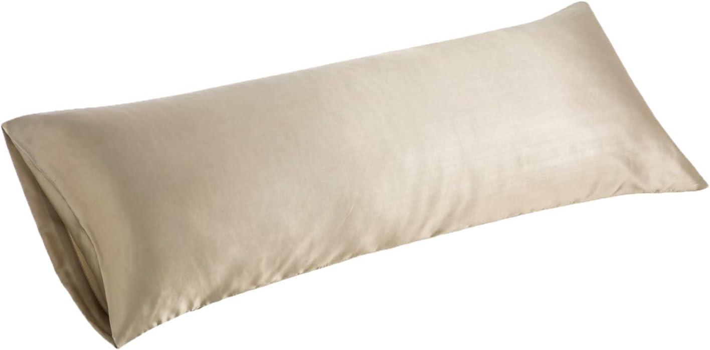 Beige pillowcase Pregnancy Body Pillowcase Oversize Plush U Shaped Pillow Cover