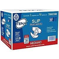 Tena Slip Protector Anatómico para Incontinencia, medianos, 30 piezas