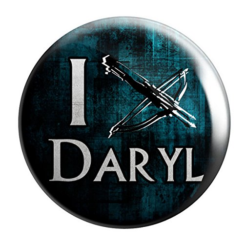 Geek Details Moving Corpses Themed Pinback Button I Crossbow Daryl
