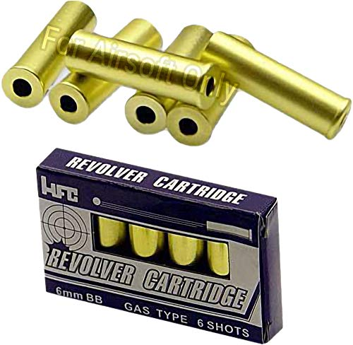 Evike Spare Shell Set of 6 for HFC / G2 and Compatible Gas Revolver Series