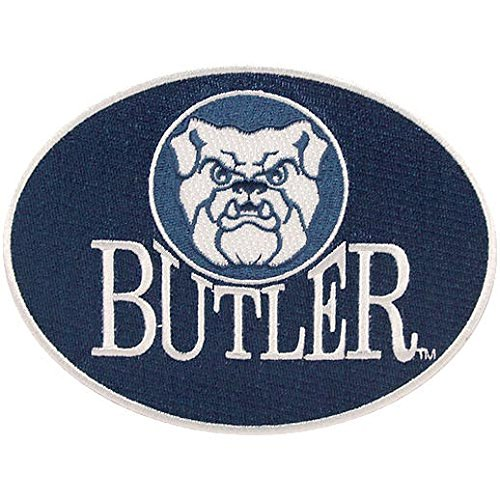 (NEW! Butler Bulldogs Peel & Stick Repositionable Embroidered Patch)