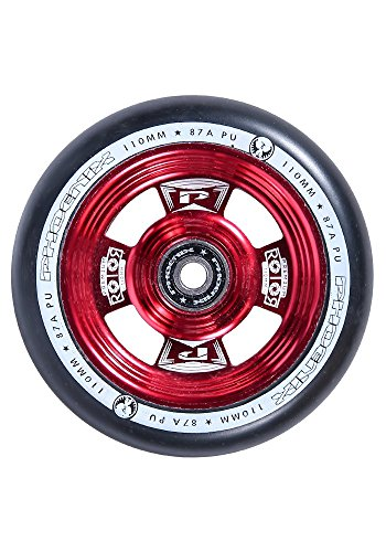 Phoenix Rotor Pro Scooter Wheel 110mm with ABEC 9 Bearings (Abec 5 Red Bearings)