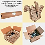"IDL Packaging Large Brown Kraft Paper Roll 36"" x"