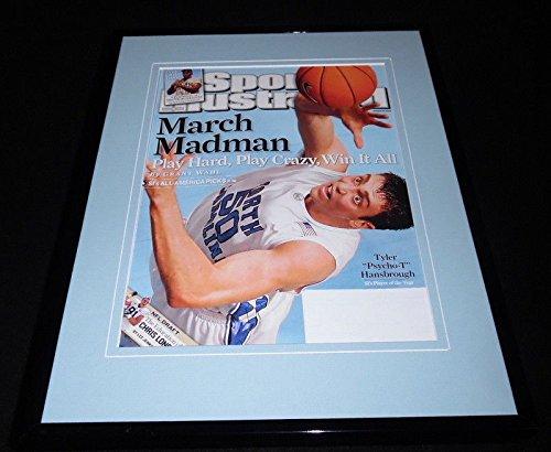 Tyler Hansbrough Framed ORIGINAL 2008 Sports Illustrated Cover North Carolina ()