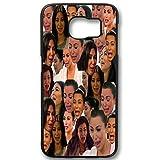Kim Kardashian Crying face Collage for Samsung Galaxy Case (SamSung Galaxy S6 edge black)