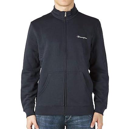9dd0517b Amazon.com: Champion Full Zip Long Sleeve Sweatshirt - Navy: Sports ...