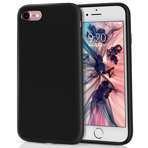iPhone 8 Case, iPhone 7 Case, MILPROX Pretty Series Liquid Silicone Gel Rubber Matte Case with Soft Microfiber Cloth Cushion, Apple 4.7