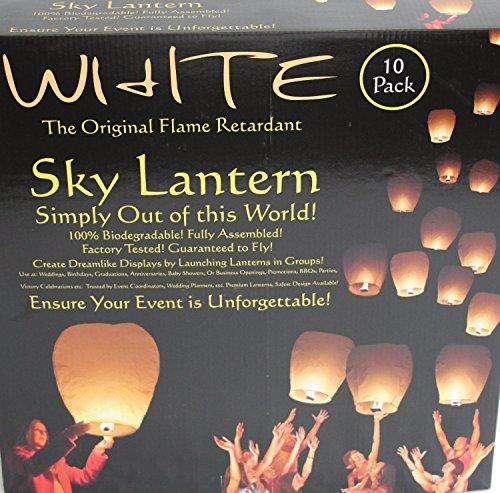 The Original White Sky Lanterns
