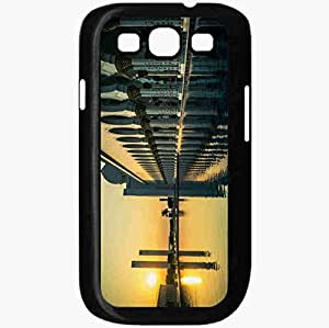Unique Design Fashion Protective Back Cover For Samsung Galaxy S3 Case City Black
