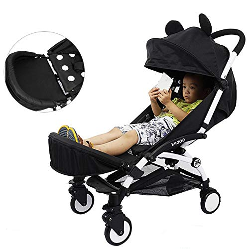 Amazon.com : Samber Baby Stroller Footrest Baby Stroller Armrest Foot Support Stroller with Umbrella Accessories Extended Booster Seat Footrest Baby ...