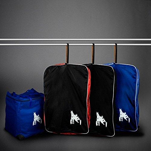 FinnTack Geschirr-Tasche, mit Traber-Druck blue/blue(B/B)