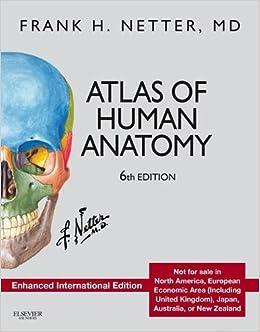Atlas Of Human Anatomy Enhanced International Edition Netter Basic Science Frank H 9780323390095 Amazon Books