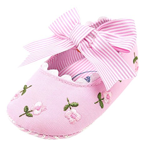 FEITONG Toddler Baby Girl Fashion Embroidery Flower First Walkers Kid Shoes