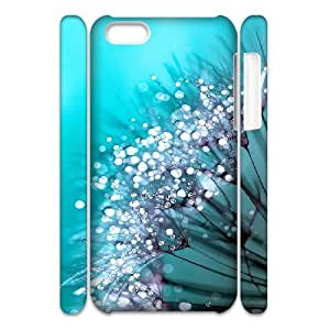3D IPhone 5C Cases Morning Glory, Fly [White]