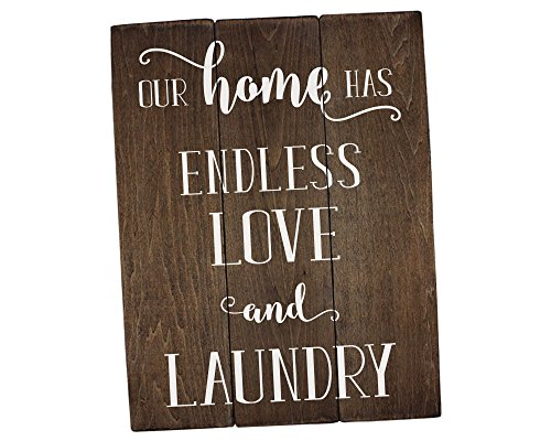 Elegant Signs Our Home Has Endless Love and Rustic Laundry Room Decor Laundry Room Sign Laundry Room Art Laundry Room Decorations Rustic Home Decor