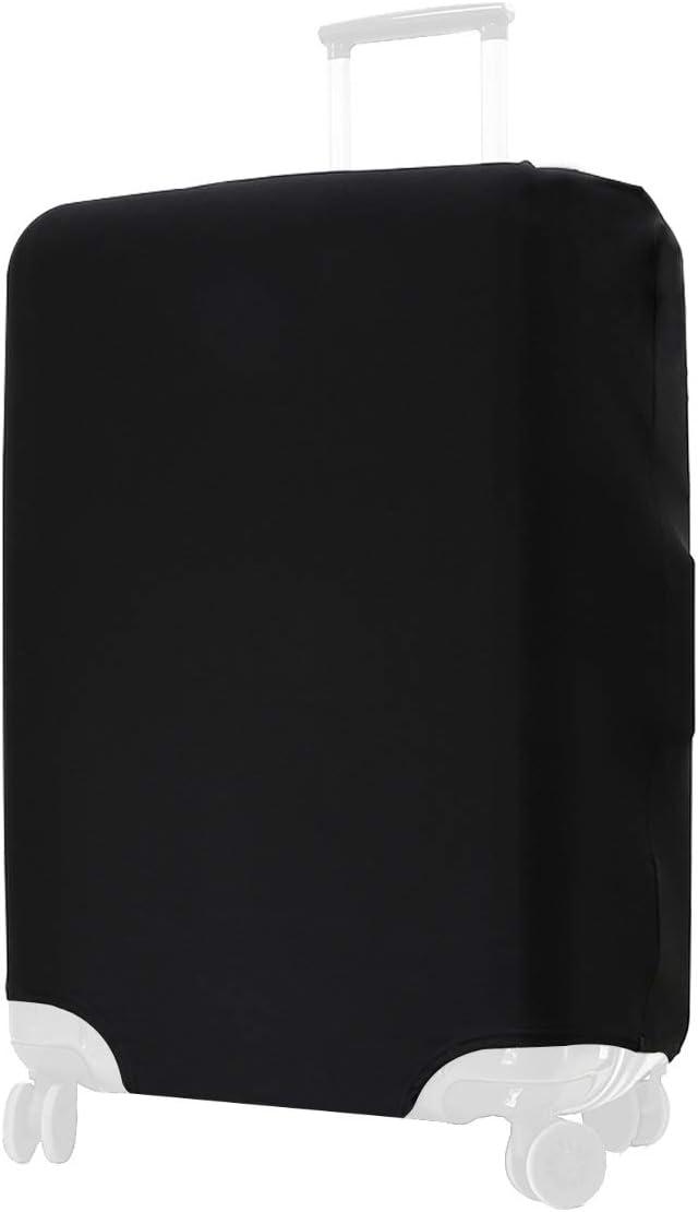 Tailles S M L et XL Noir Housse de Valise en Tissu et Protection pour Bagage