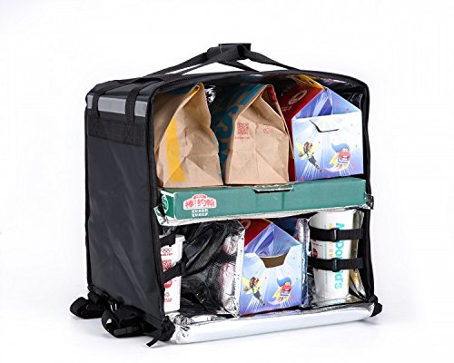 Tpu frontlader lieferung tasche große isoliert rucksack lieferung