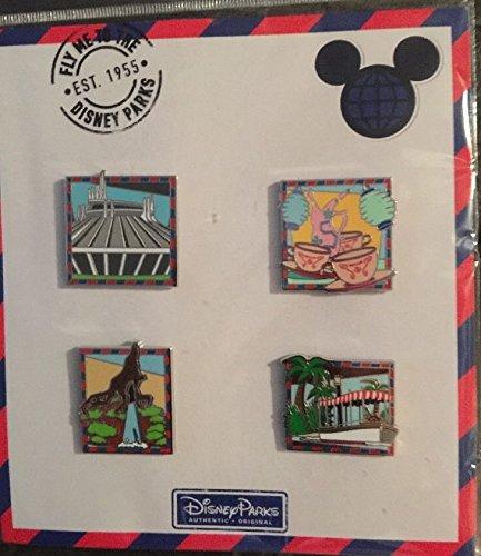 Disneyland Disney Pin (Disney Parks Fly me to the Disney Parks Pin Set)
