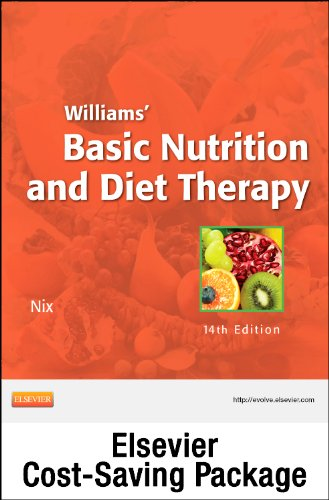 Nutrition Concepts Online for Williams' Basic Nutrition and Diet Therapy (Access Code and Textbook Package), 14e by Brand: Mosby