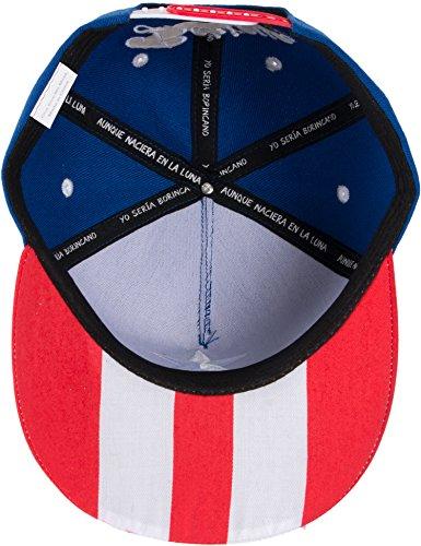 Épica gorra con la bandera de Puerto Rico  e7cd7edc5ff