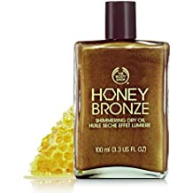 The Body Shop Honey Bronze Shimmering Dry Oil, 3.3 Fl Oz - Honey Kiss 01