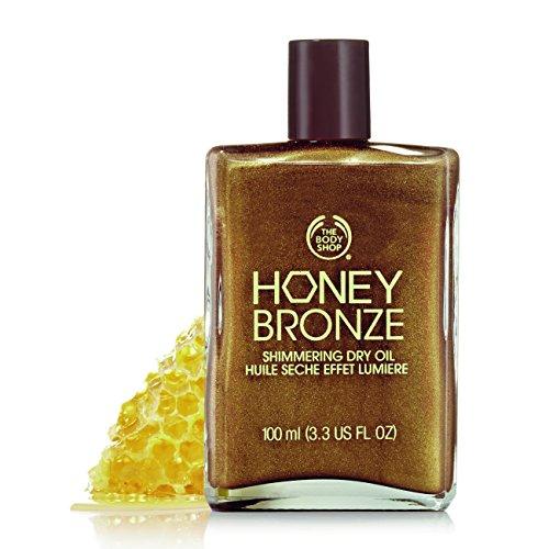 The Body Shop Honey Bronze Shimmering Dry Oil, 3.3 Fl Oz - Honey Kiss 01