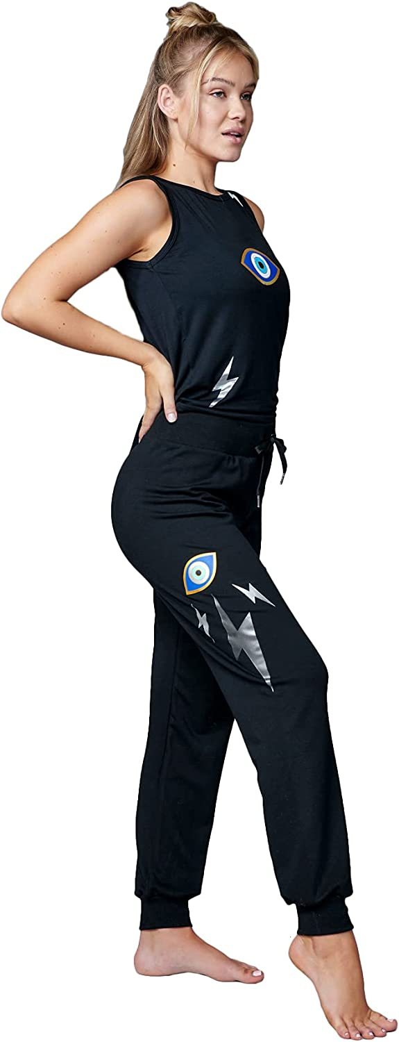 Electric Yoga No Special Campaign Evil Joggers for Women with New product type Wais High Pockets