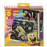 ALEX Spongebob Scraffiti Bob Scratch Pad