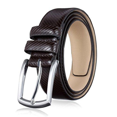 Men's Genuine Leather Dress Belt with Premium Quality - Classic & Fashion Design