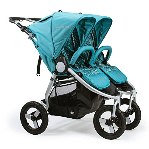 2018 Bumbleride Indie Twin Stroller, Color Tourmaline Wave