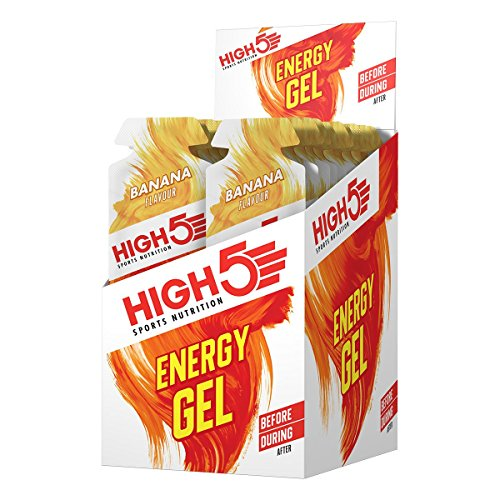 High 5 Energy Gel - 20 x 38g Sachet - Banana Blast