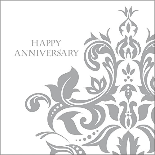 Creative Converting Anniversary Napkins Silver