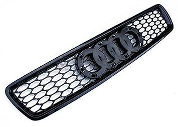 Audi A4 S4 B5 Euro RS4 frontal Rejilla de Nido de Abeja de malla Sport S Line Negro anillos 96 - 01: Amazon.es: Coche y moto