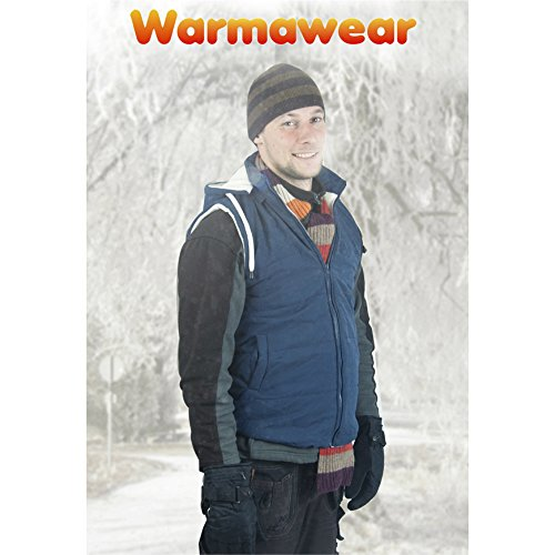 Price comparison product image Warmawear Battery Heated Hooded Vest (Small / Medium)